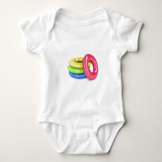Body Para Bebê Anéis da natação