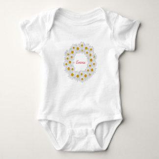 Body Para Bebê Anel personalizado delicioso da margarida
