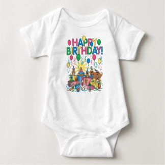 Body Para Bebê Animais de festa de aniversário