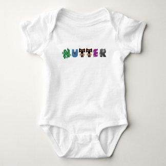 Body Para Bebê Animais de Nutter