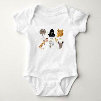 Body Para Bebê Animais selvagens