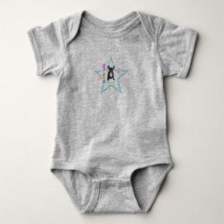 """Body Para Bebê Animal de estimação Abbr """"Samson """" do bebé T w"""