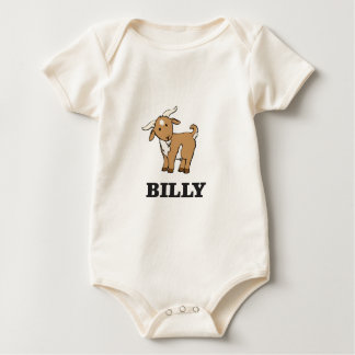 Body Para Bebê animal de fazenda da cabra de billy