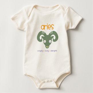 Body Para Bebê Aniversário do Aries