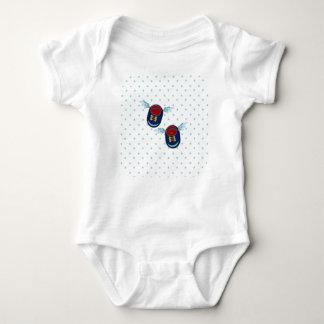 Body Para Bebê Anjo bonito calçados voados