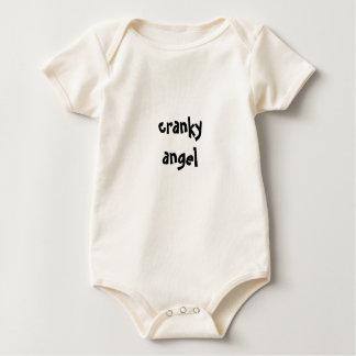 Body Para Bebê anjo irritadiço