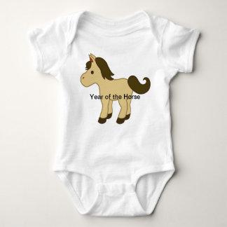 Body Para Bebê Ano do cavalo