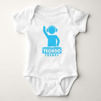 Body Para Bebê Anormais de Techno