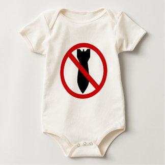 Body Para Bebê Anti guerra