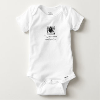 Body Para Bebê Anton Cajetan Adlgasser
