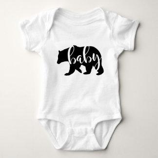 Body Para Bebê Anúncio da gravidez do urso do bebê, bebê novo