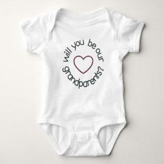 Body Para Bebê Anúncio gêmeo da gravidez você será NOSSO