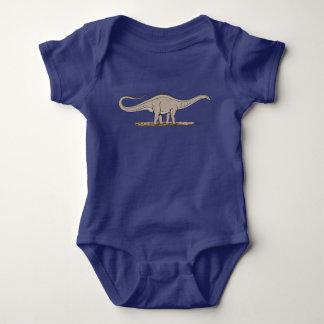 Body Para Bebê Apatosaurus