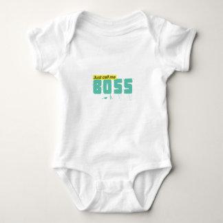 Body Para Bebê Apenas chame-me chefe corpo unisex para bebês