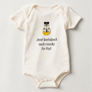 Body Para Bebê Apenas chocado e apronte para voar o bebê crescem
