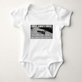 Body Para Bebê Apenas Snowmobiles Merch