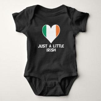 Body Para Bebê Apenas um irlandês pequeno