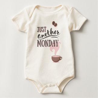 Body Para Bebê Apenas um outro roupa de segunda-feira