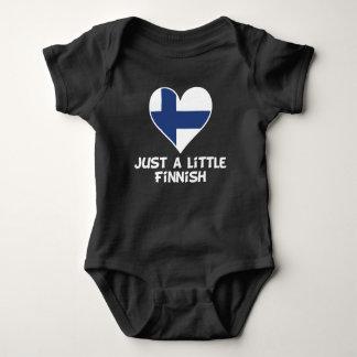 Body Para Bebê Apenas um pouco finlandês