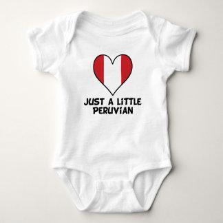 Body Para Bebê Apenas um pouco peruano
