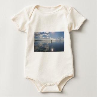Body Para Bebê Aperfeiçoe a água imóvel
