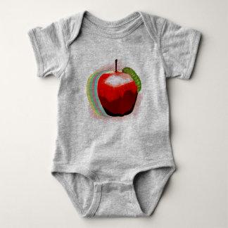 Body Para Bebê Apple com sem-fim