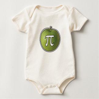 Body Para Bebê Apple Pi