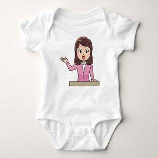 Body Para Bebê Apresentador