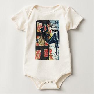 Body Para Bebê Apresentando as aventuras de MIM!