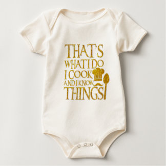 Body Para Bebê Aquele é o que eu faço mim cozinho e eu sei coisas