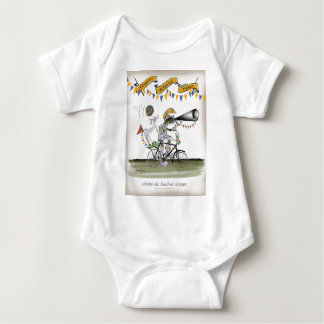 Body Para Bebê árbitro de Brasil