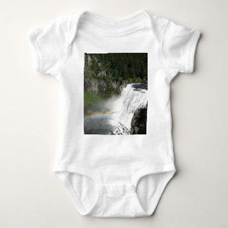 Body Para Bebê Arco-íris da cachoeira
