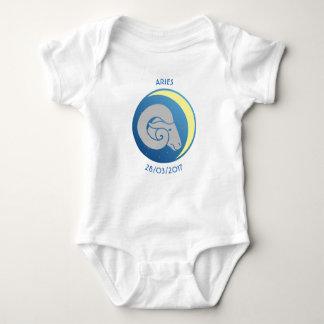 Body Para Bebê Aries da veste do bebê do sinal da estrela