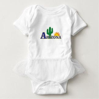 Body Para Bebê arizona azul