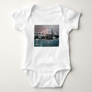 Body Para Bebê Arquitectura da cidade escura