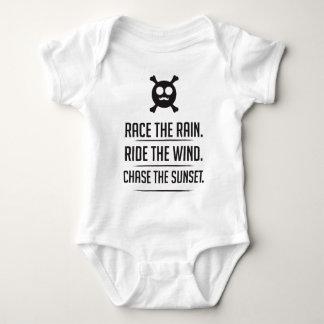 Body Para Bebê Arroz na chuva