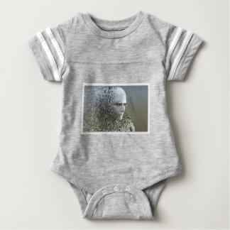 Body Para Bebê Arte abstracta humana