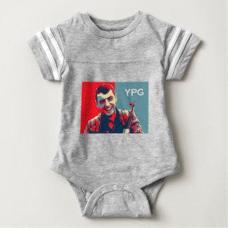 Body Para Bebê Arte curdo 2 do lutador 2 de YPG