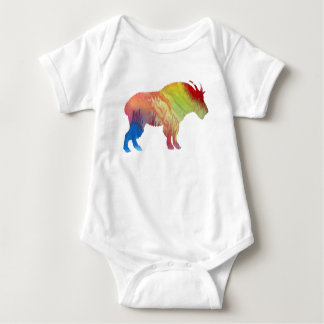 Body Para Bebê Arte da cabra