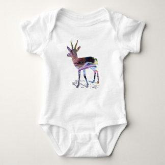 Body Para Bebê Arte da gazela