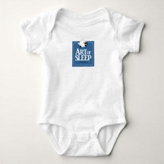 Body Para Bebê Arte da roupa do bebê do sono