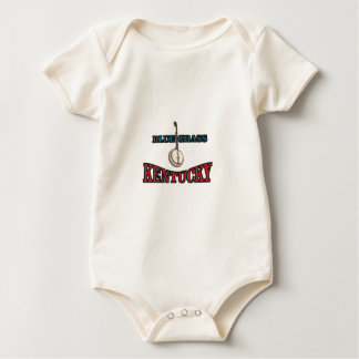 Body Para Bebê Arte do Bluegrass de Kentucky