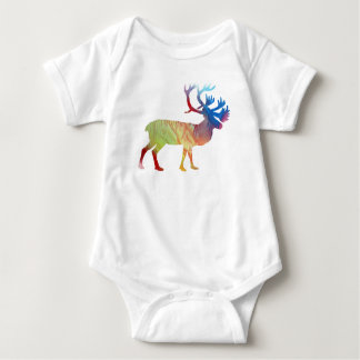 Body Para Bebê Arte do caribu