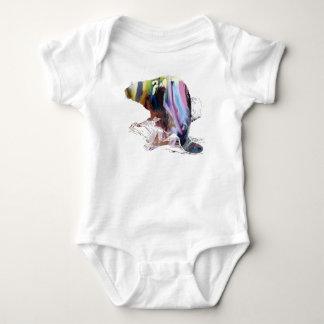 Body Para Bebê Arte do castor