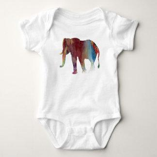 Body Para Bebê Arte do elefante