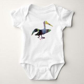 Body Para Bebê Arte do pelicano
