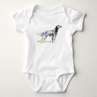 Body Para Bebê Arte do setter inglês