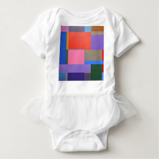 Body Para Bebê Arte moderna/Mondrian