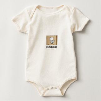 Body Para Bebê arte nivelada da precipitação