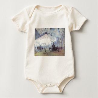 Body Para Bebê Arte popular do vintage do estação de